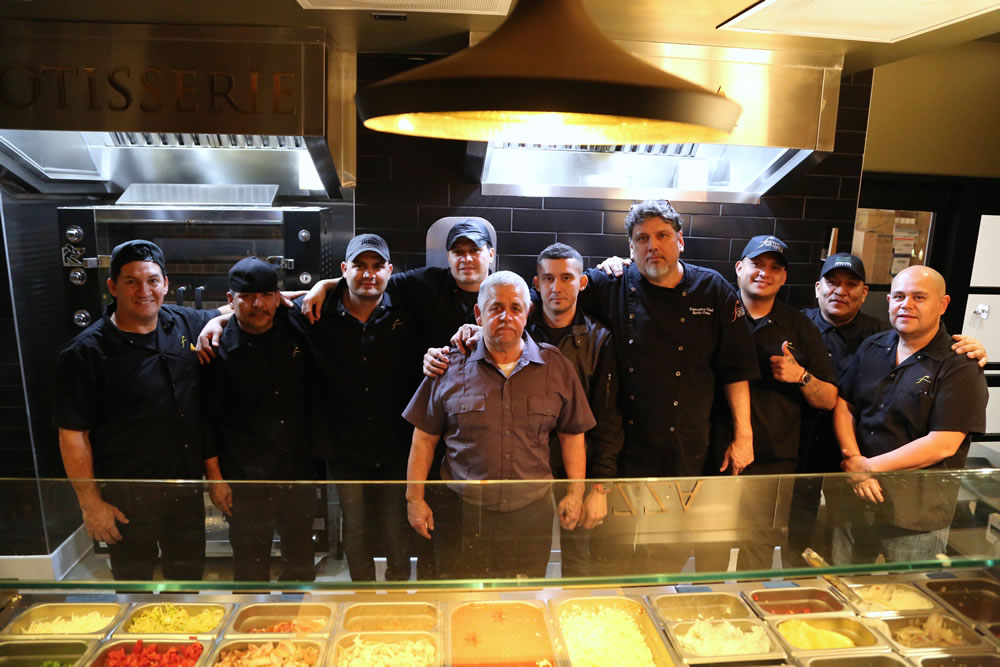 Fortun's Kitchen + Bar - Chef and Crew