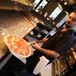 Fortun's Kitchen + Bar - Pizza Oven Action