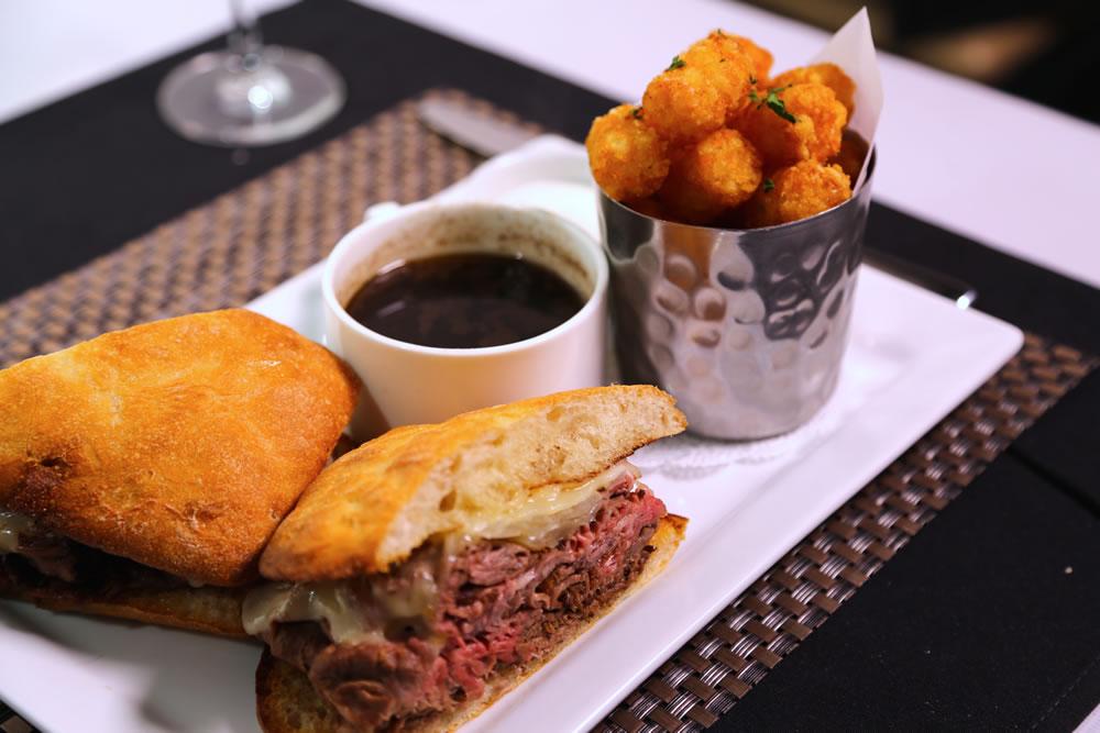 Fortun's Kitchen + Bar - Rotisserie Prime Angus Beef Dip